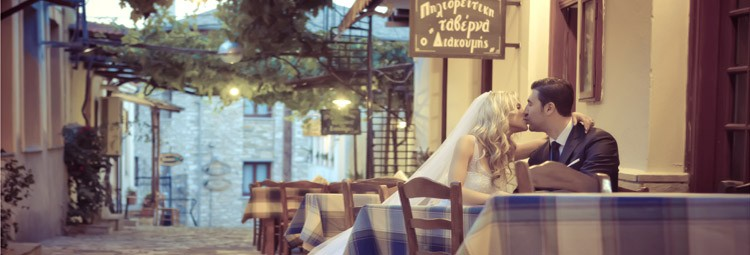 Alexandra & Anastasios - A location wedding in Pelion Mountain