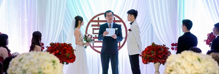 A Wedding at the Langham