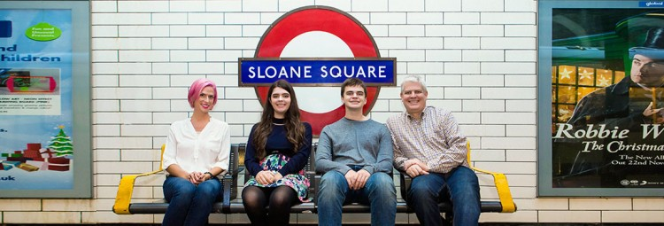A family in London