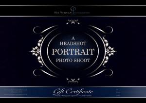 Headshot Portrait Gift Certificate