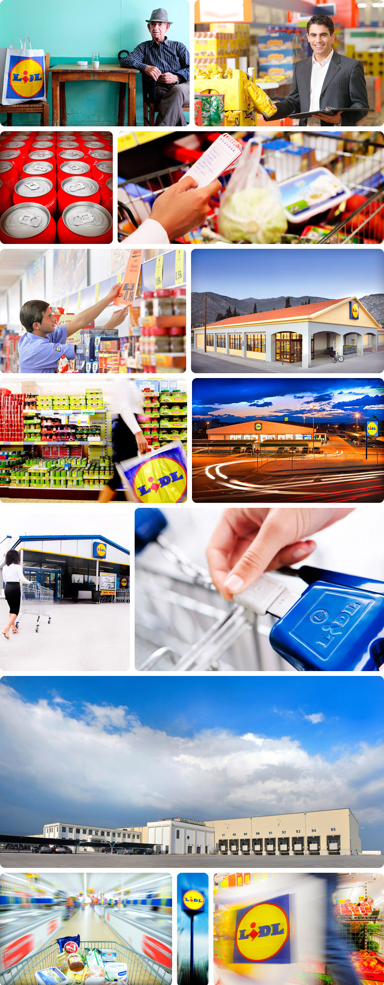 Commercial Photographs for the Lidl Hellas 003