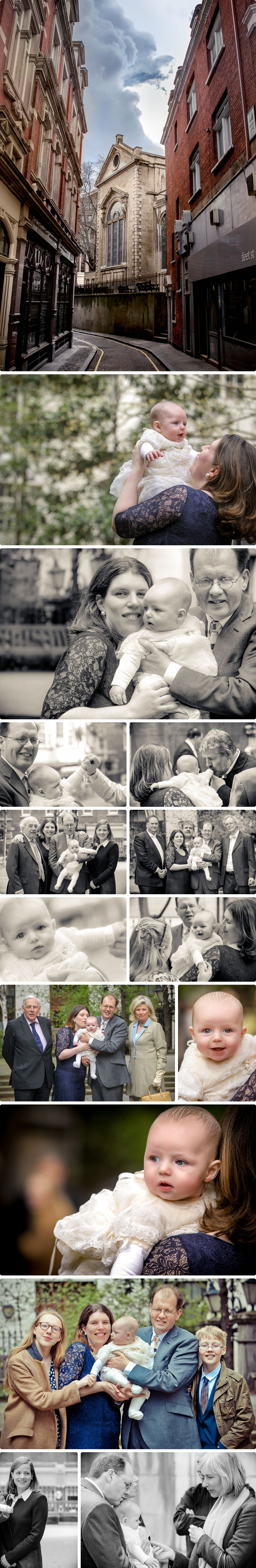 Outdoor snapshots of little Jasper's family - Christening Photography in London 01