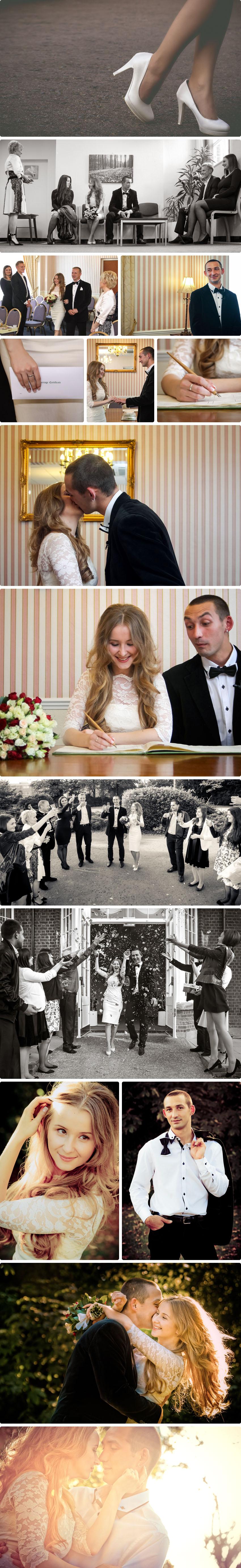 Intro images of the Ukrainian wedding