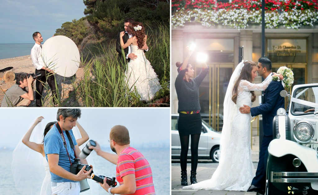 Documentary Wedding Photographers in action