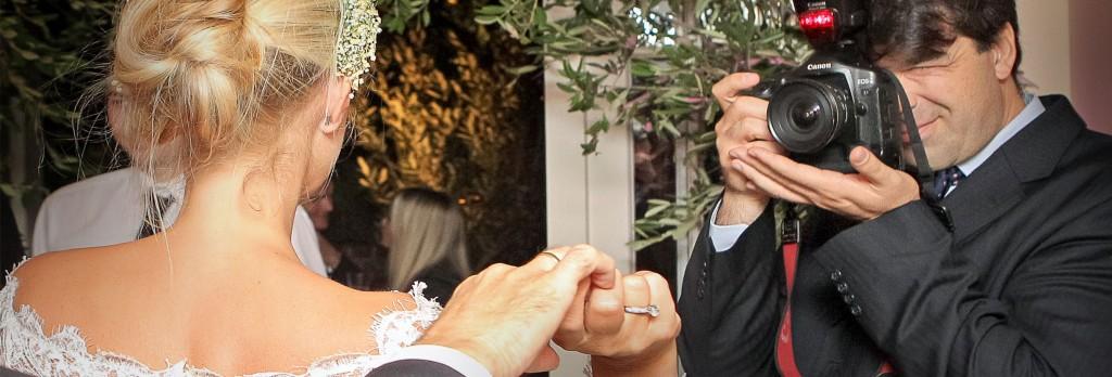 A London Wedding Photographer taking a bridal portrait