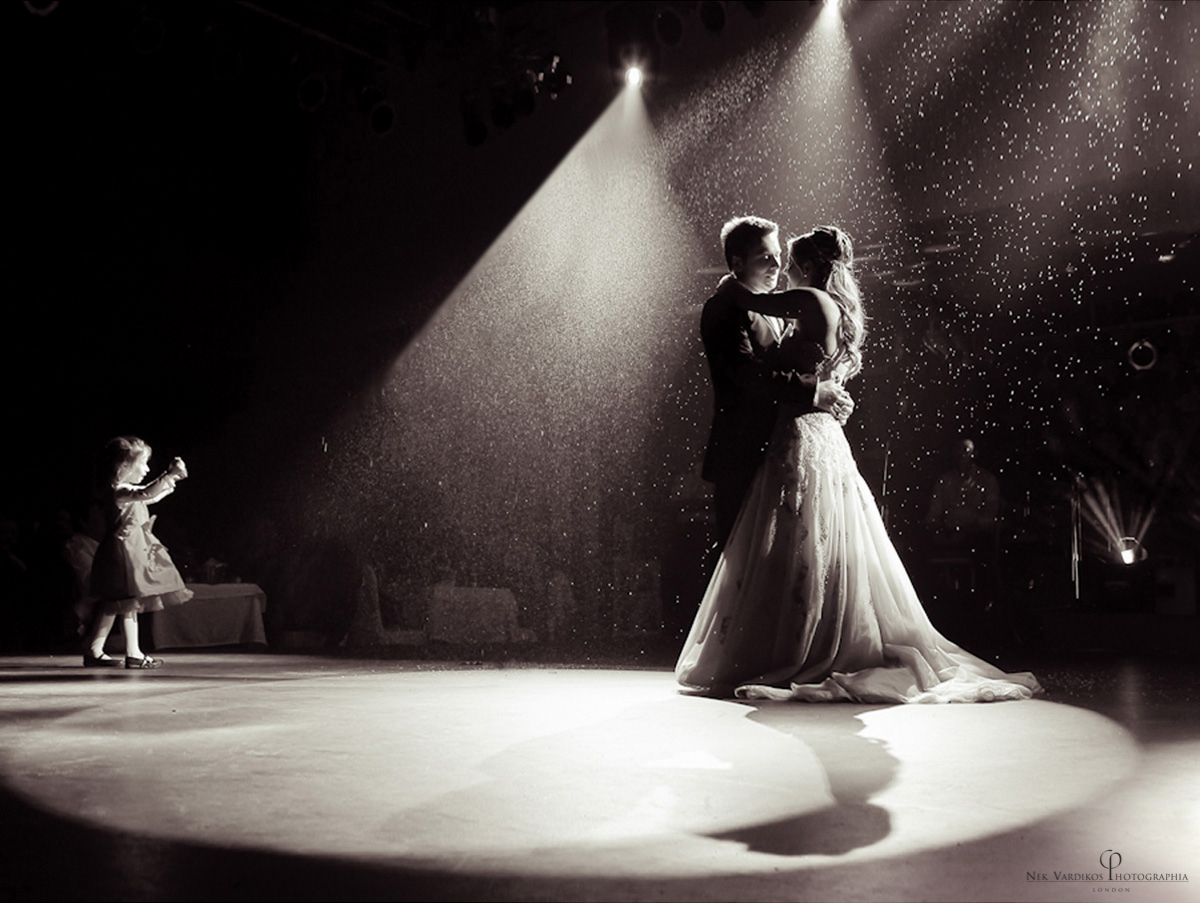 wedding photographers - a couple's first dance at the reception
