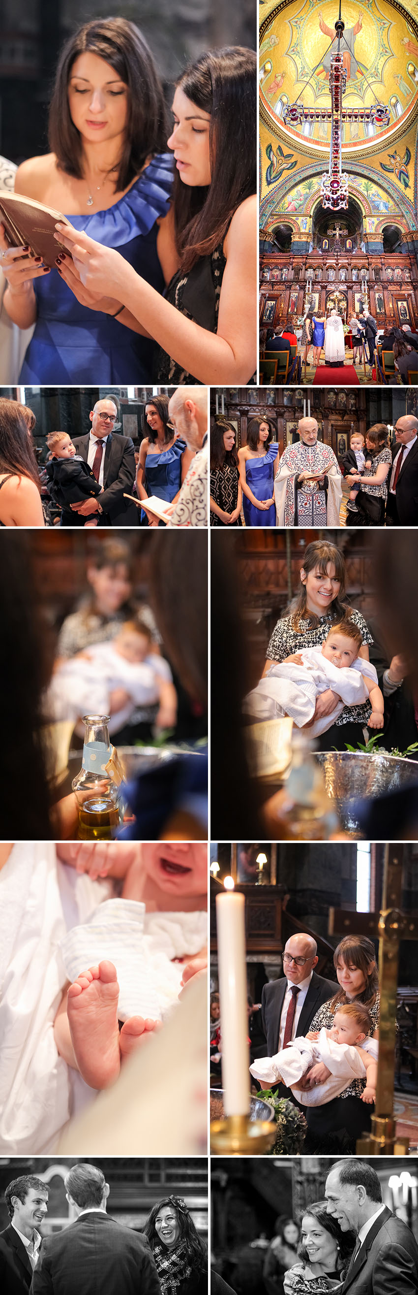 Baptism in St Sophia Bayswater London 02