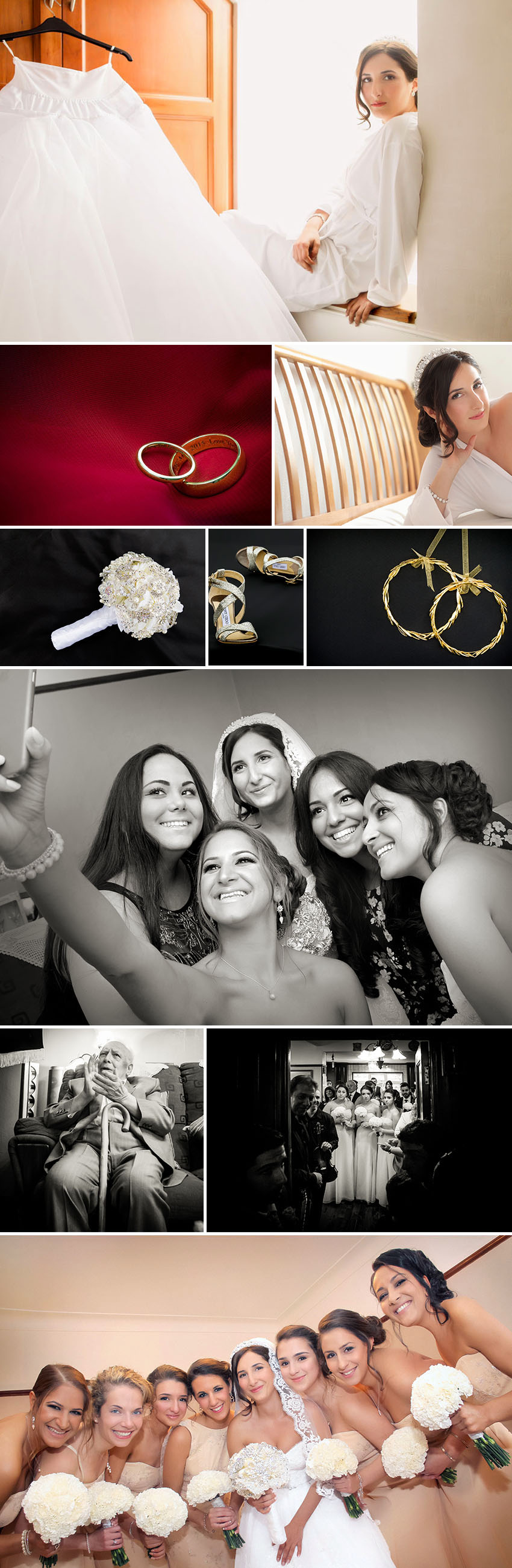 Wedding of Georgina and Evros in London 01