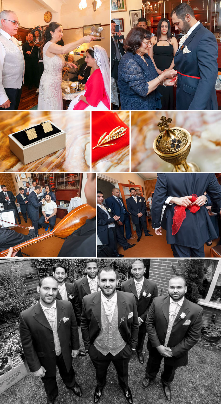 Wedding of Georgina and Evros in London 02