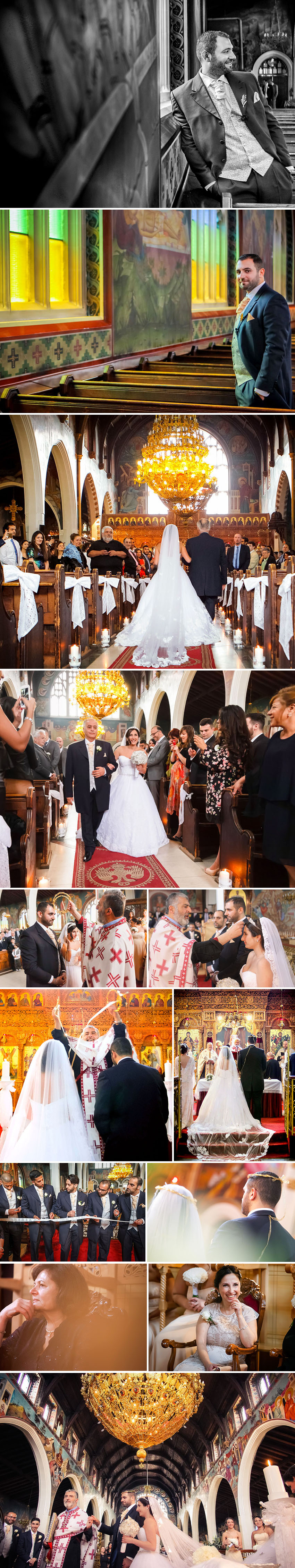 Snapshots of the Greek Cypriot Wedding ceremony