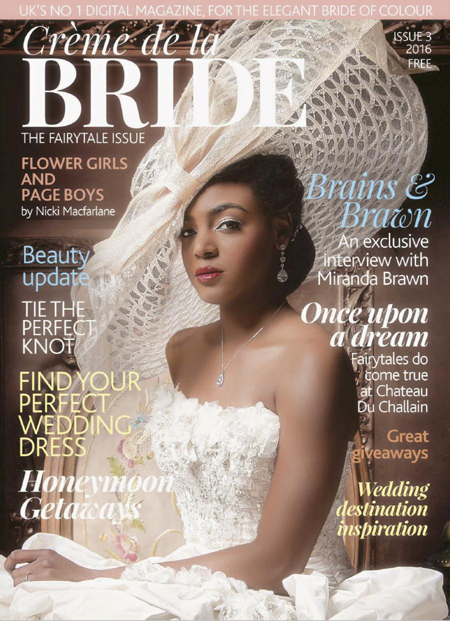 The cover of Creme de la Bride magazine