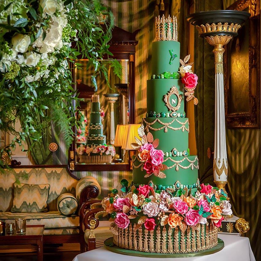 A wedding cake photography for ECE Opulencia