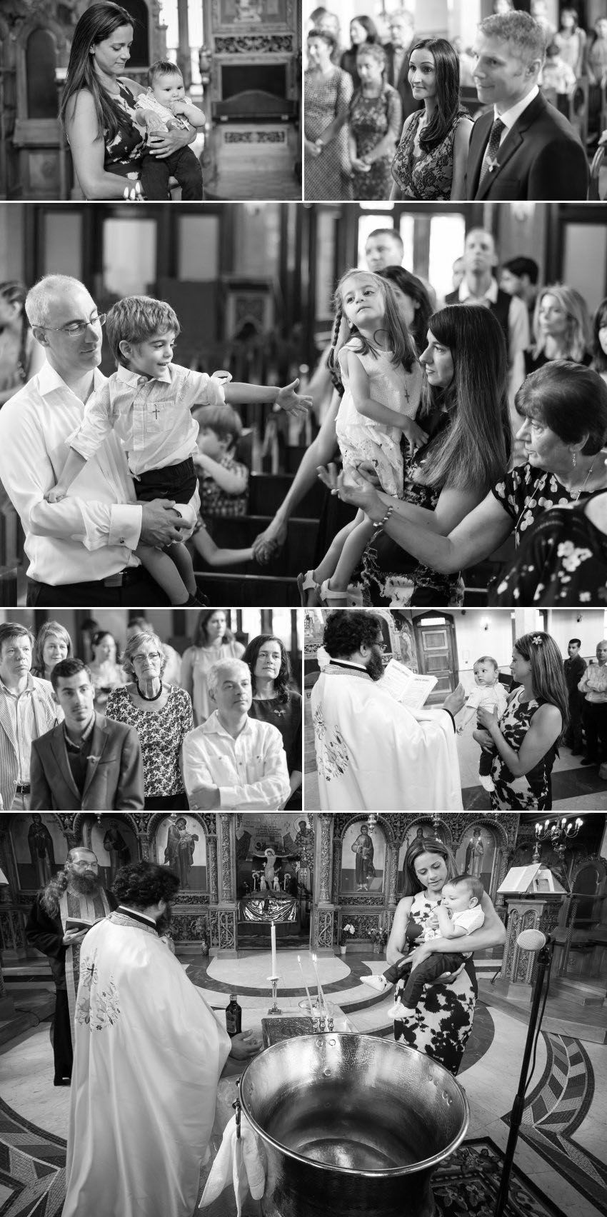 03 Greek Orthodox Christening at St Mary Wood Green