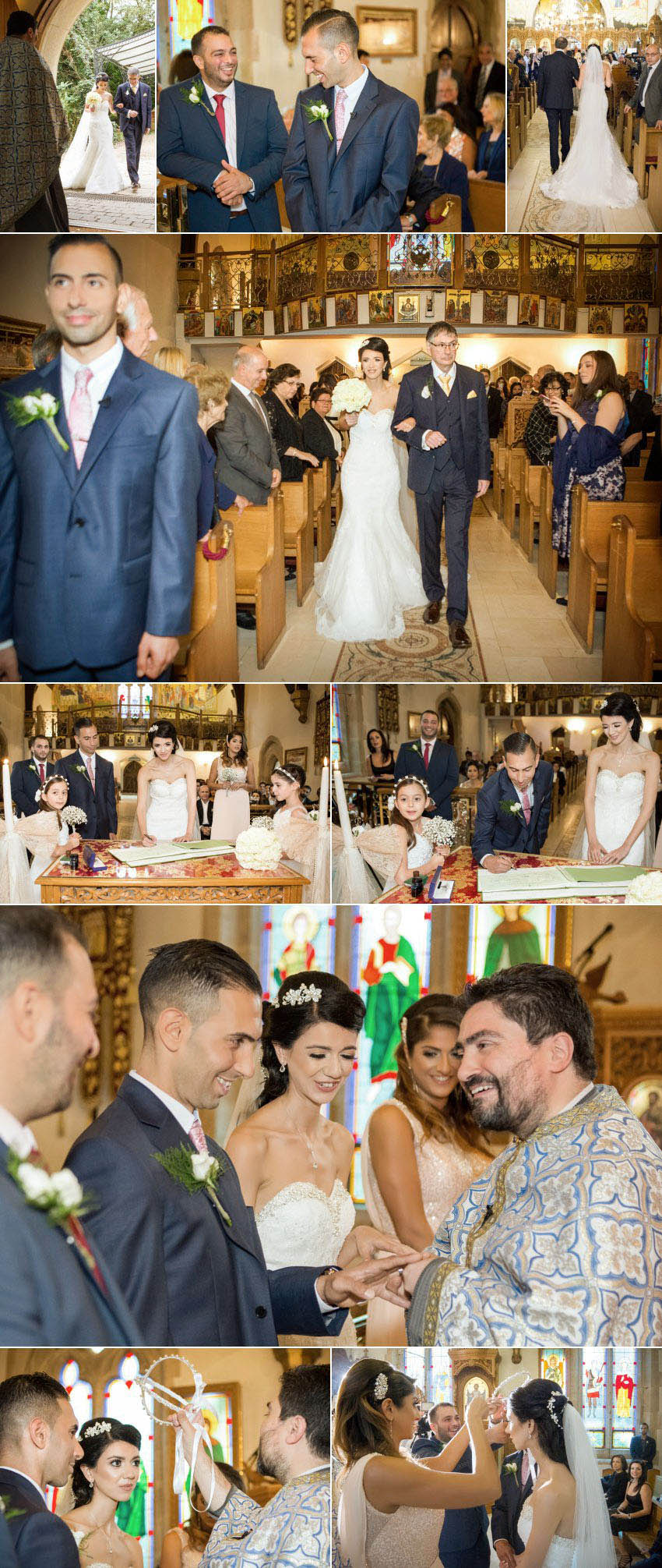 A wedding at 12 Apostles Greek church 10