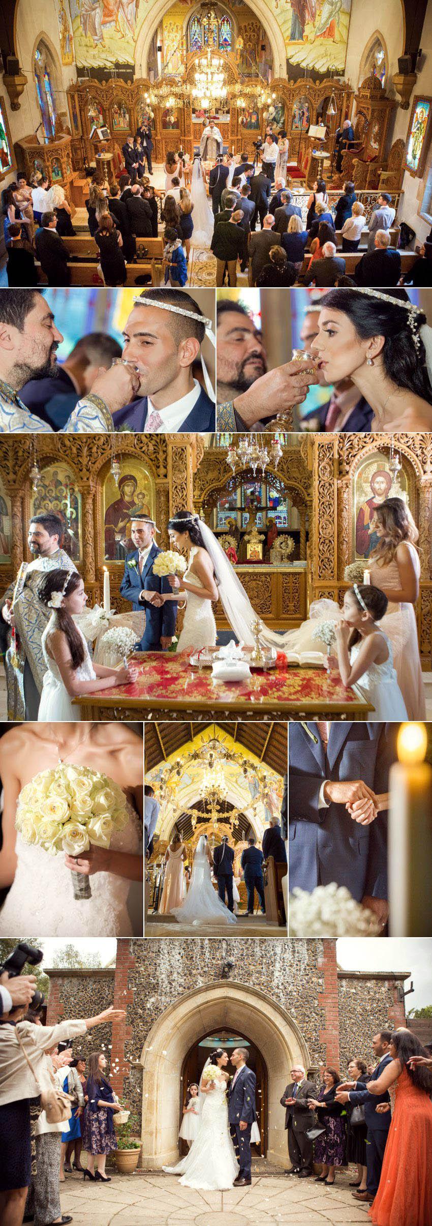 A wedding at 12 Apostles Greek church 11