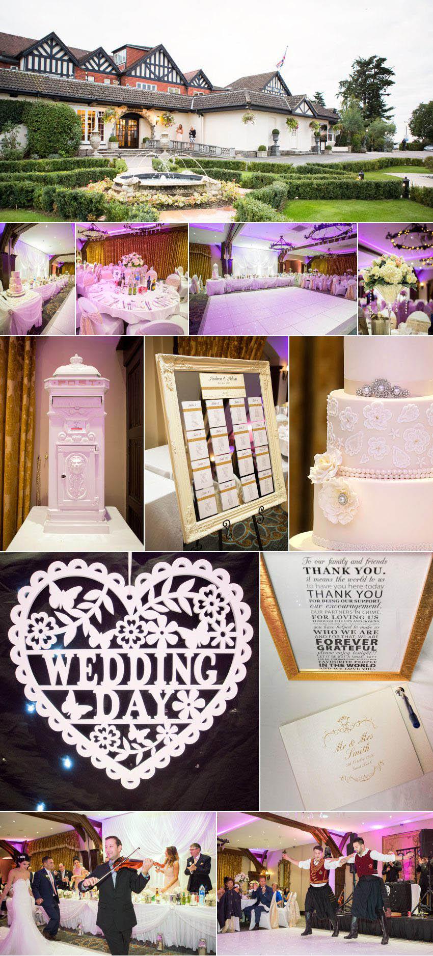 A wedding reception at Royal Chase venue 13