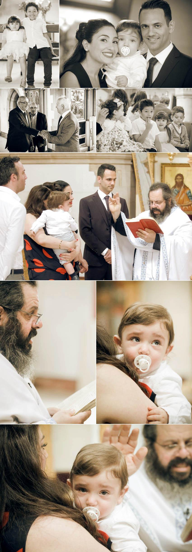 Baptism in St Demetrios Orthodox Church