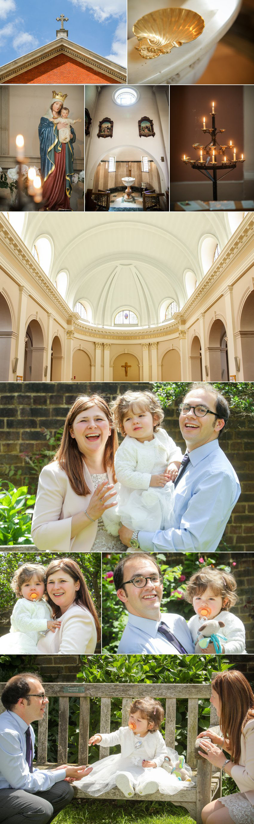 Fiona's Roman Catholic baptism photography in Kew  1