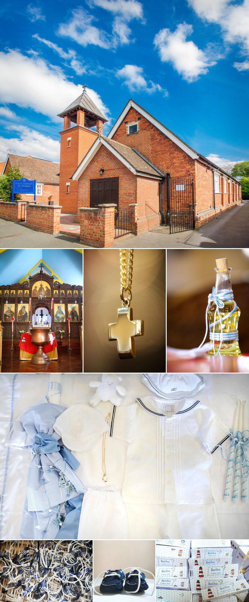 01 Christening at Greek Orthodox Church of St George in Kingston