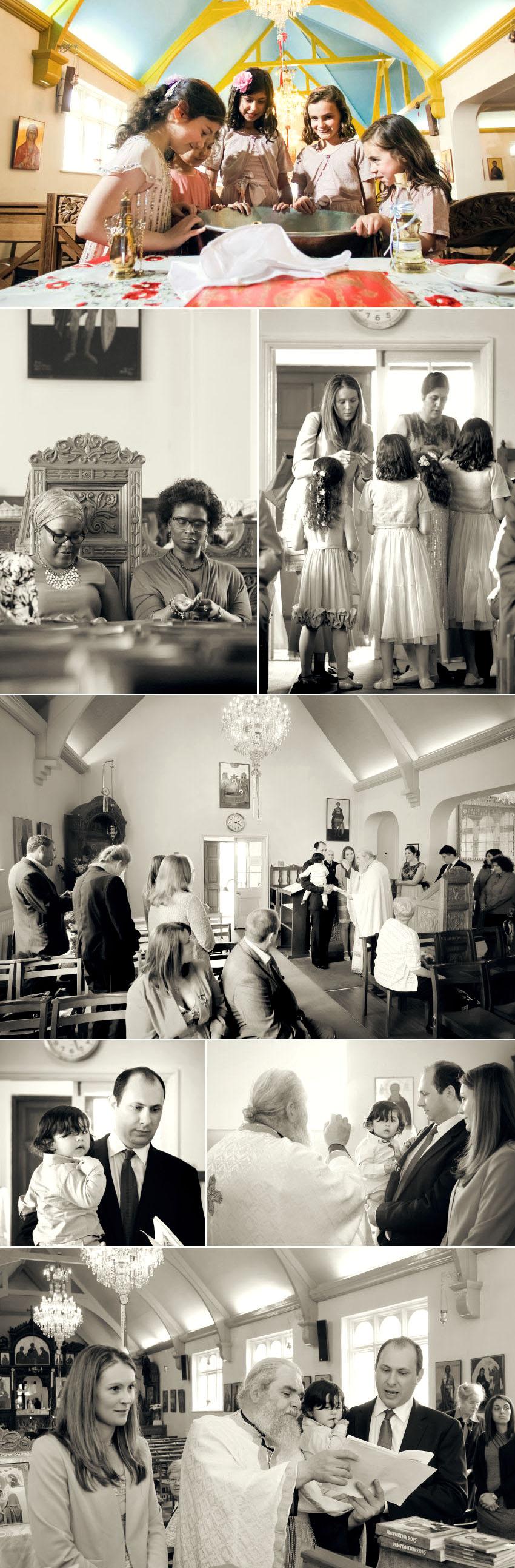 04 Christening at Greek Orthodox Church of St George in Kingston
