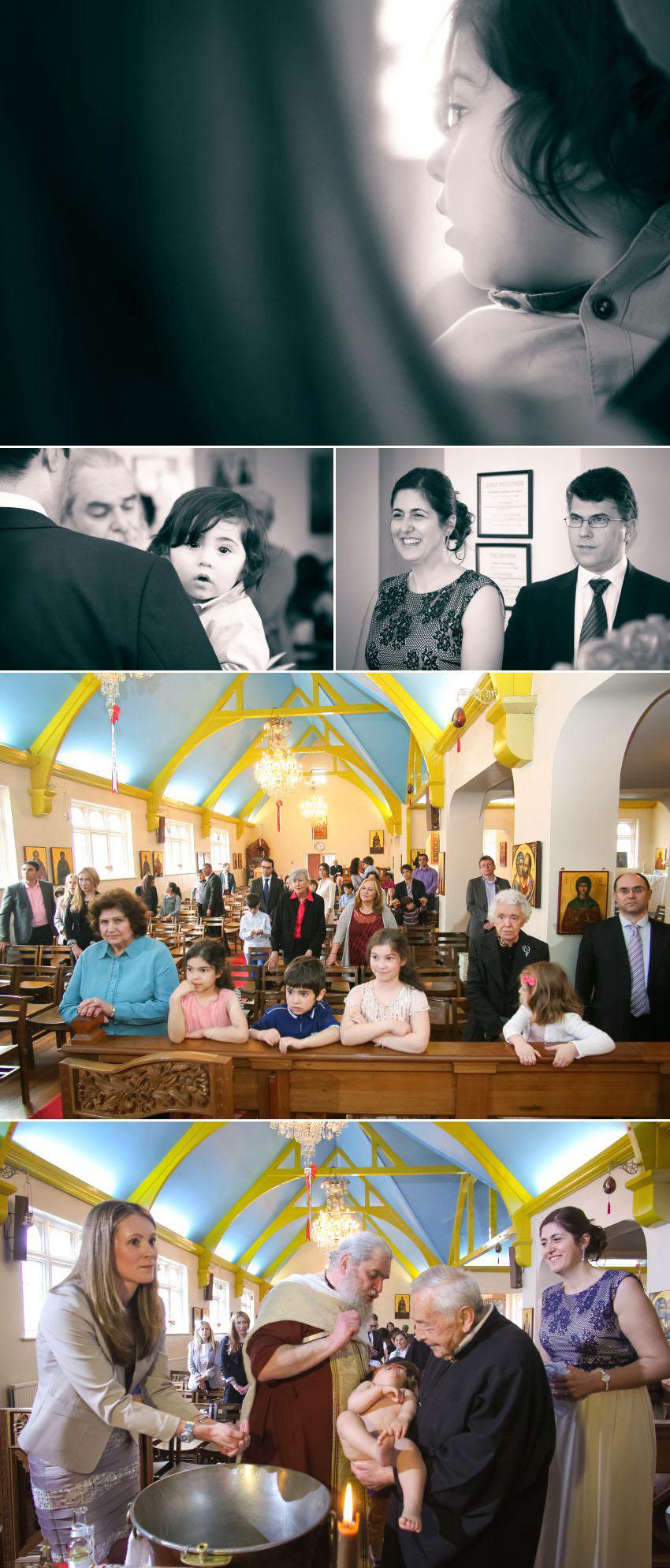 05 Christening at Greek Orthodox Church of St George in Kingston