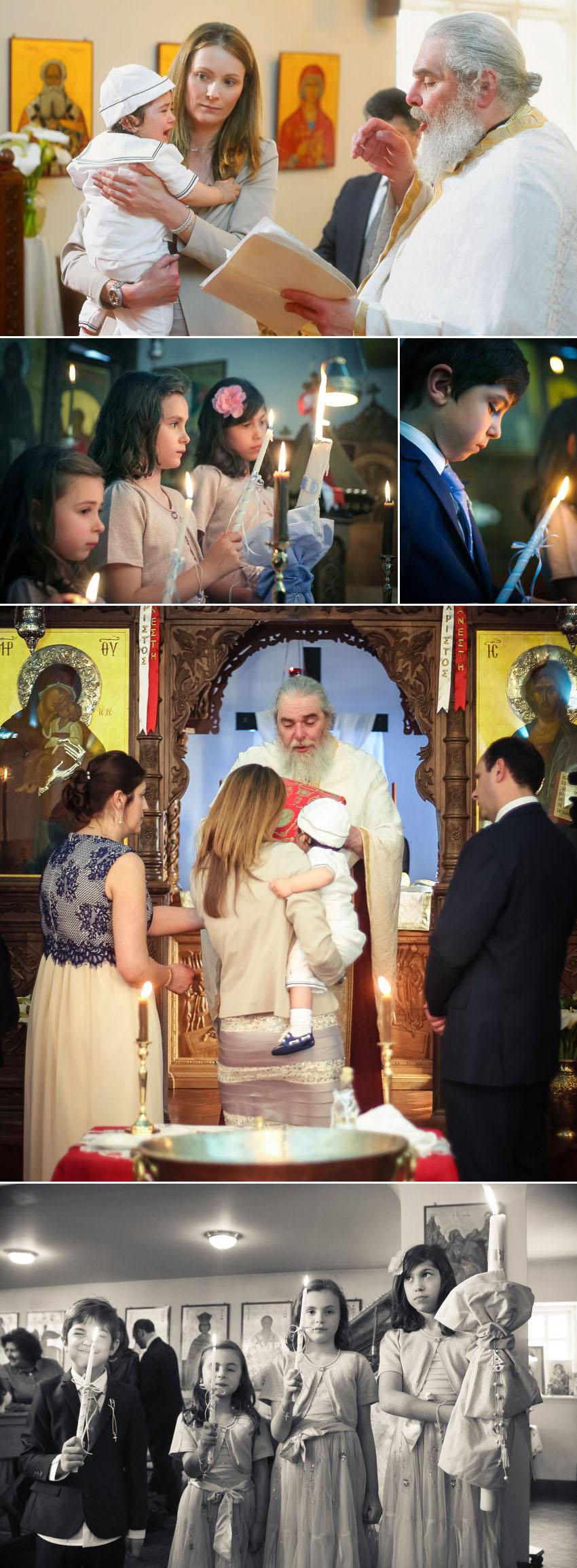 07 Christening at Greek Orthodox Church of St George in Kingston