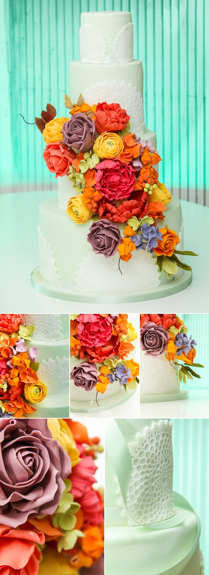 02 Wedding cake photography ECE Opulencia