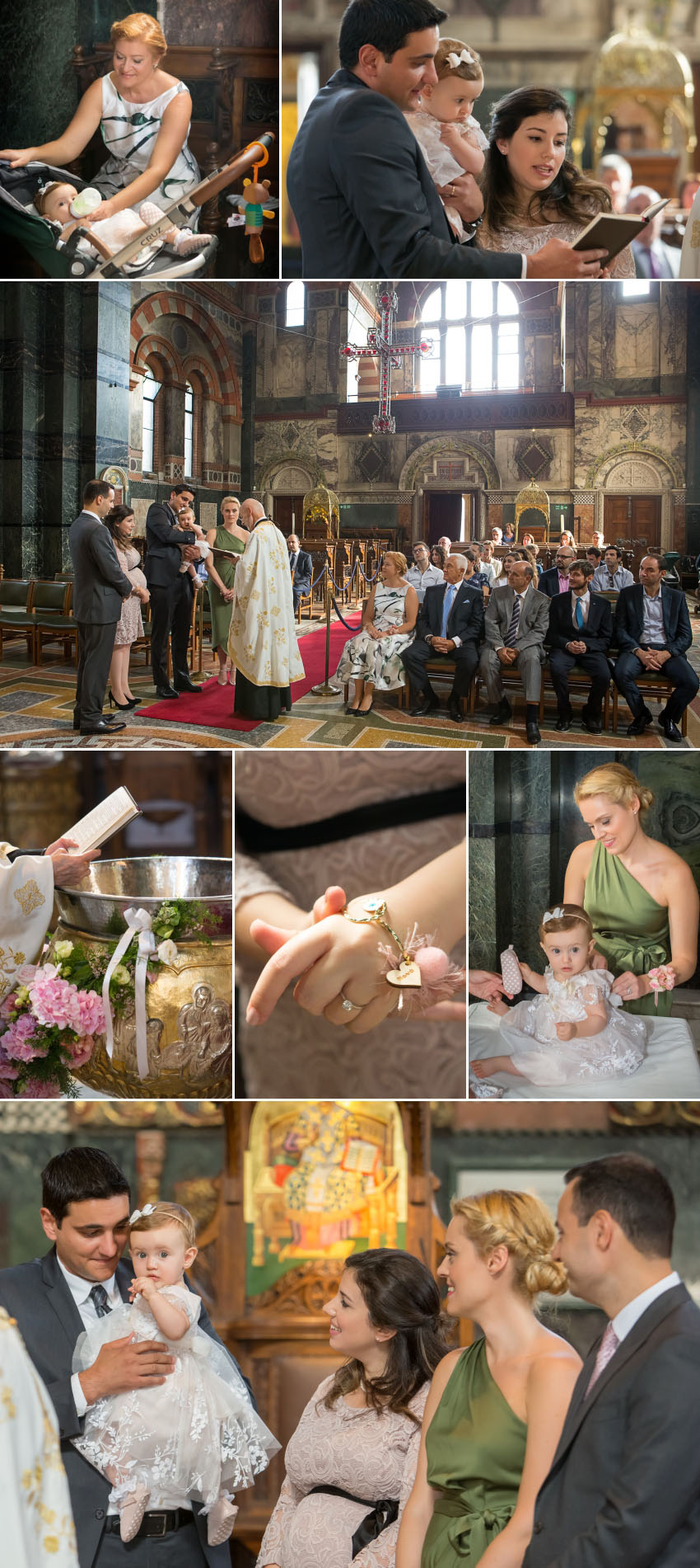 A baptism at St Sophia Greek Cathedral London 06