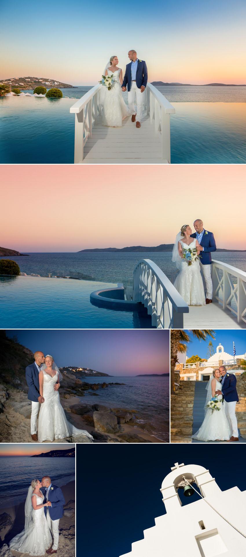 A St John Hotel Mykonos wedding photography