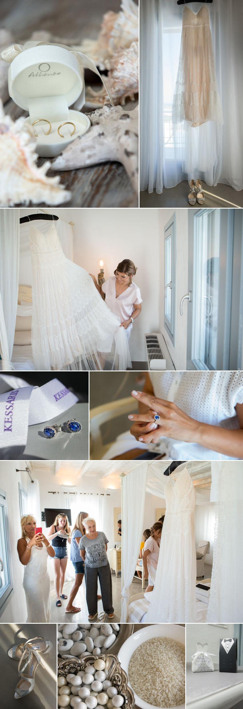 A Paros wedding