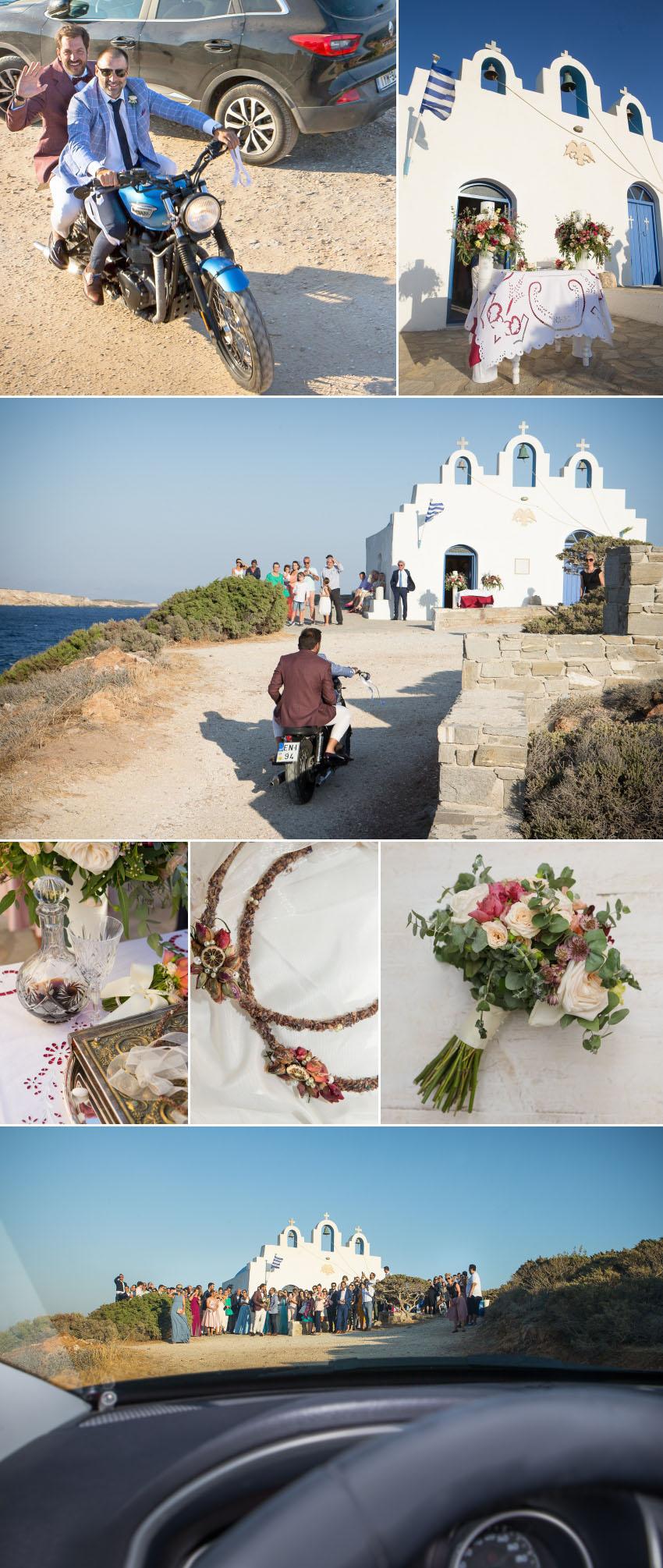 A wedding in Paros