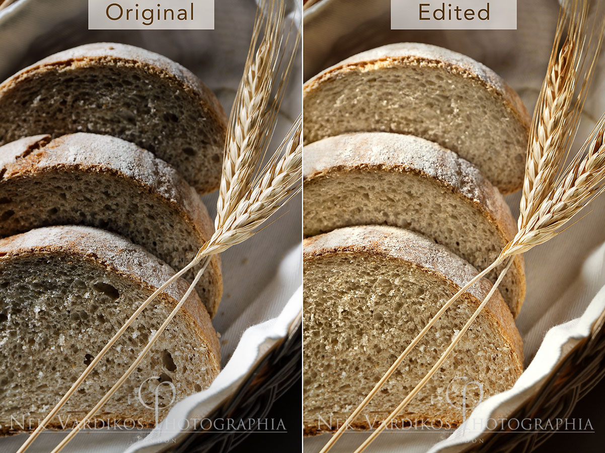 Food Photography Retouching sample