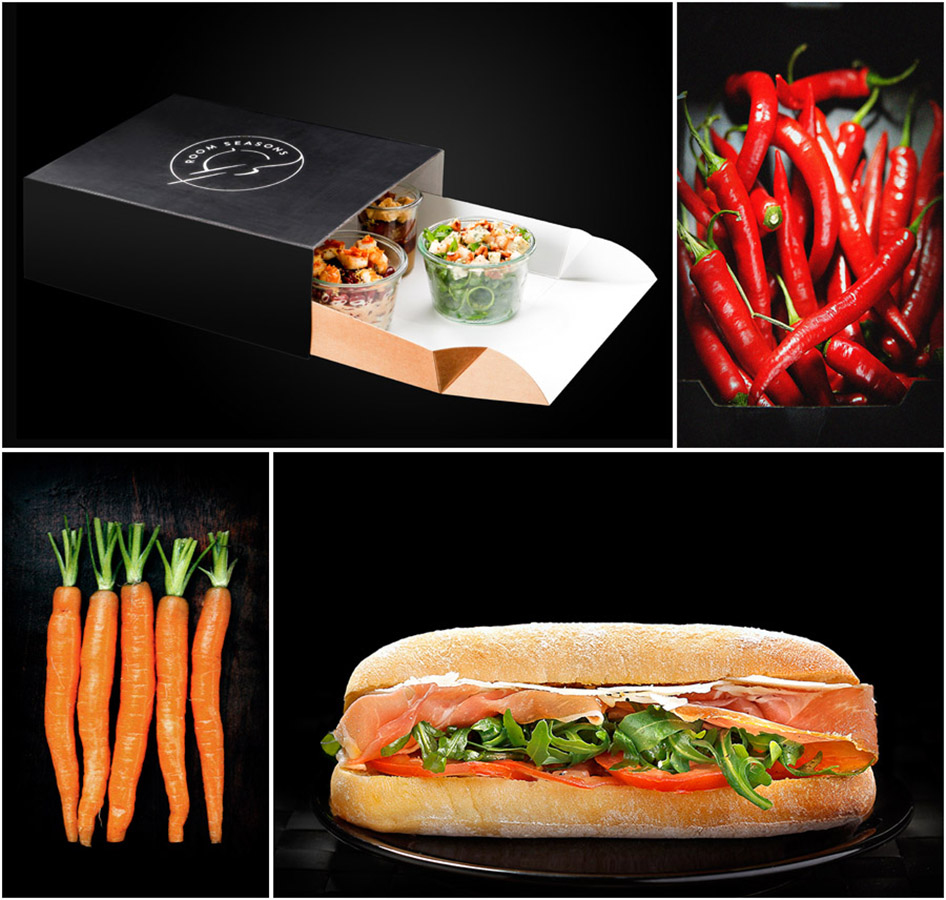 Food Photography pricing and packaging