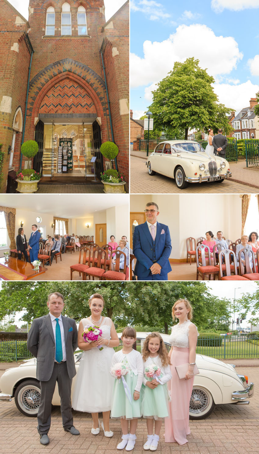 Wedding photography St Albans Register Office 02
