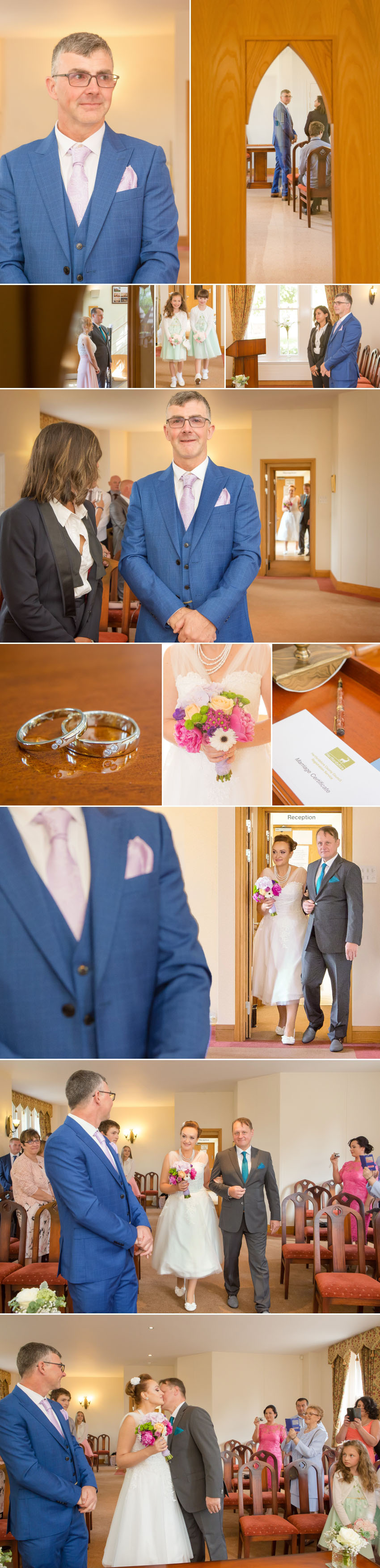 Wedding photography St Albans Register Office 03
