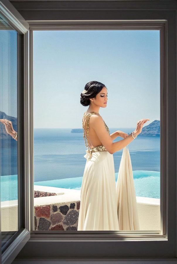 A Santorini Photoshoot